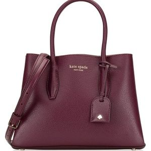 NWT/FAST SALE PLUM KATE SPADE SMALL (EVA) SATCHEL
